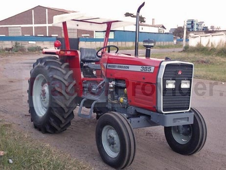 Massey Ferguson / MF-385 in Tanzania Stock