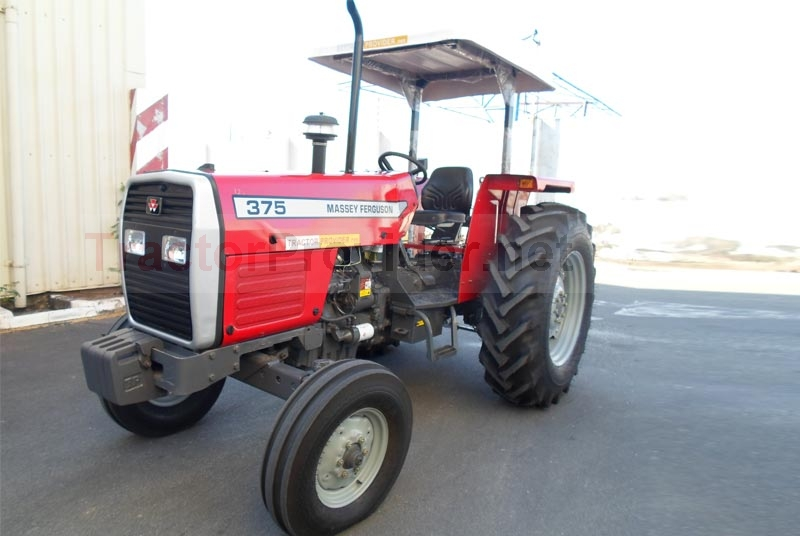 Massey Ferguson / MF-375 in Tanzania Stock